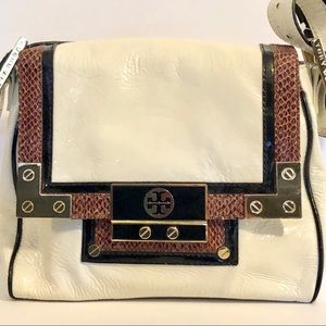 Rare Tory Burch Patent Leather Shoulder Bag